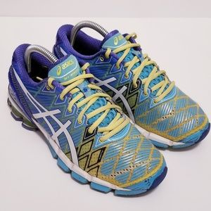 Asics sz 7.5 Gel Kinsei 5 Blue Running Sneakers